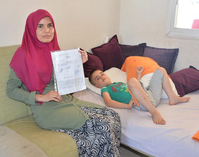 SSPE hastası oğlu için umut arıyor