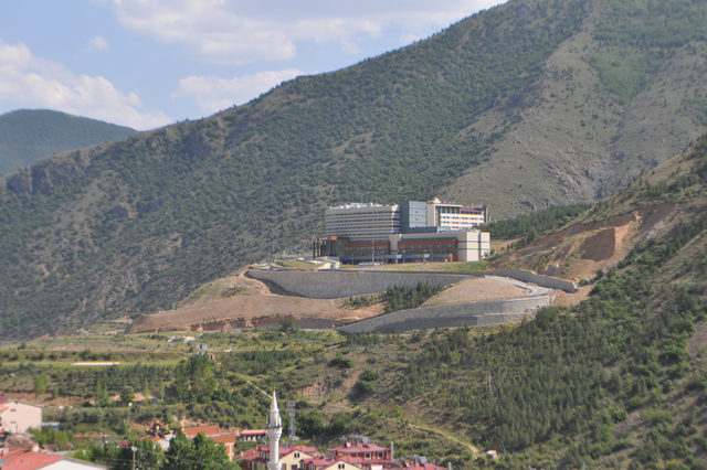 Gümüşhane'de 51 milyon liraya mal olan hastane 3 yıldır açılamadı