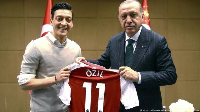 Mesut Özil Recep Tayyip Erdoğan