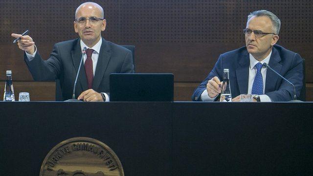 Mehmet Şimşek (solda) ve Naci Ağbal (sağda)
