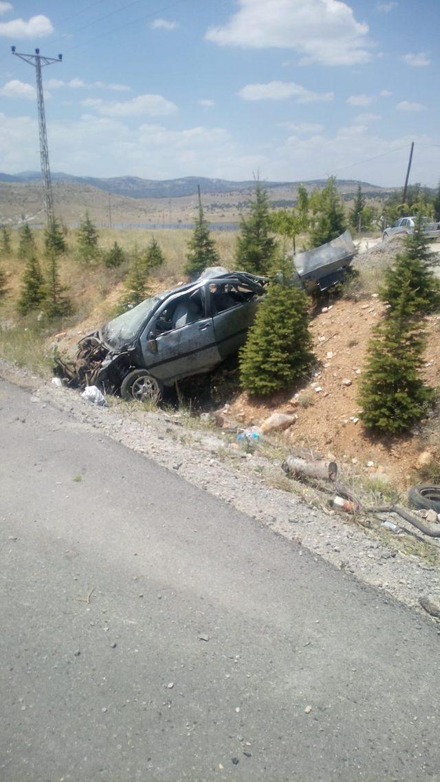 Otomobiliyle seyir halindeyken intihar etti