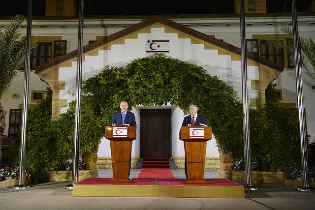 Erdoğan: KKTC'yi çekim merkezi haline getireceğiz