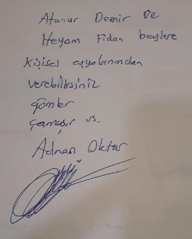 adnan oktar not