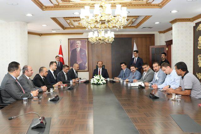 Suriyeli iş insanları Şanlıurfa'da 10 fabrika kuracak