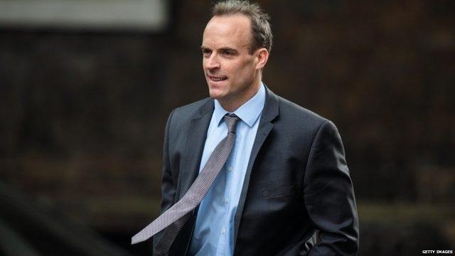 Pazartesi günü göreve başlayan Brexit Bakanı Dominic Raab bugün açıklanacak yol haritasının dengeli bir belge olacaüını söylüyor.