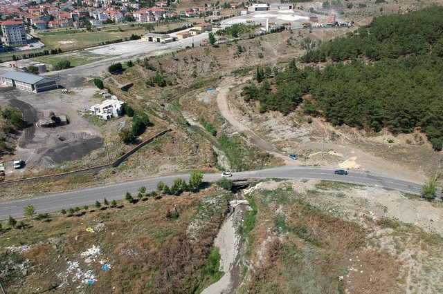 Yeni hastaneye 'tarihi köprü' engeli