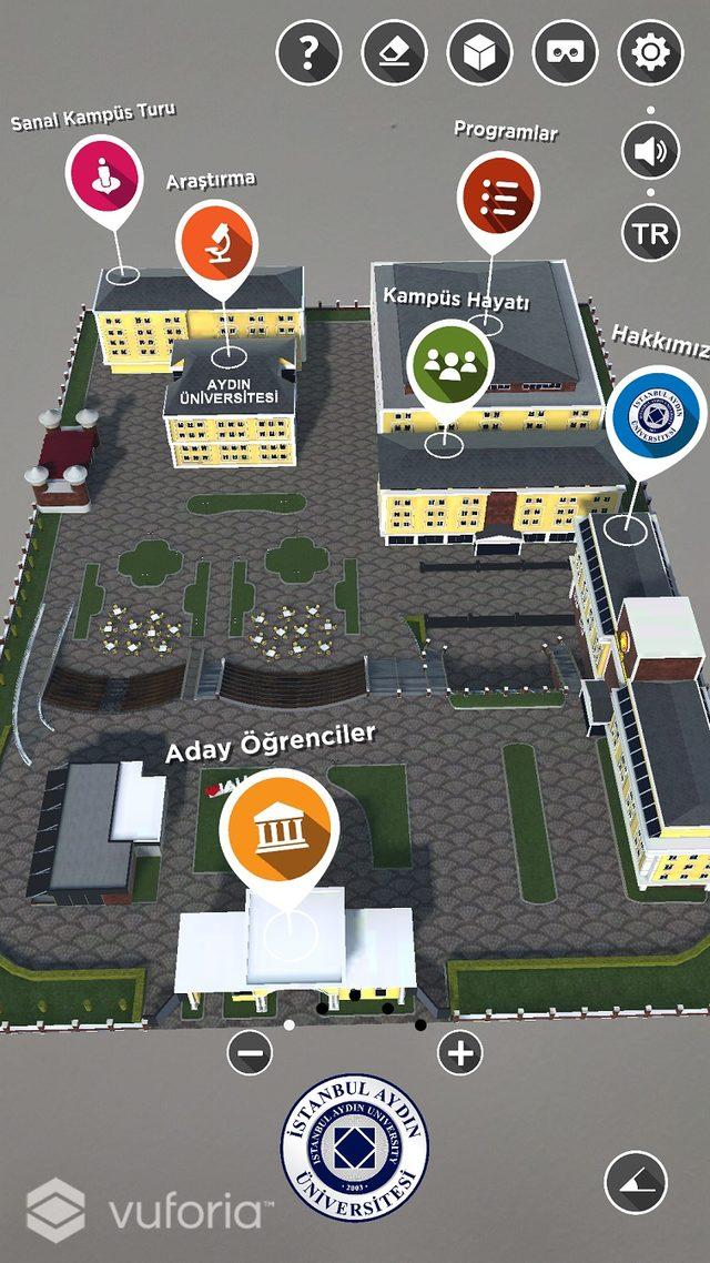 Türkiye'nin ilk hibrit aplikasyonu 'İAU Ar READER' kullanımda