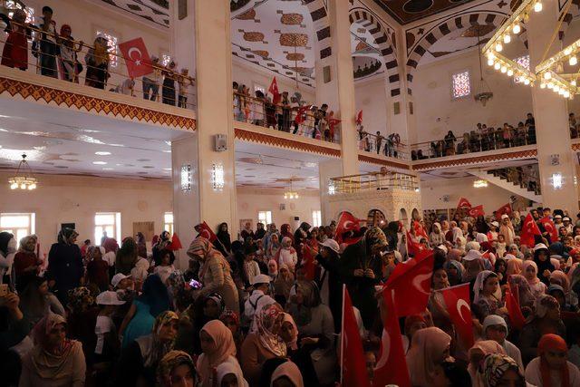 Mardin'de, 15 Temmuz şehitleri için anma etkinliği