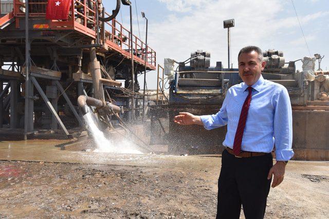 Ağrı'da, 1500 metrede 48 derece jeotermal su bulundu