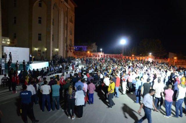 Van, Bitlis ve Hakkari'de '15 Temmuz' şehitleri için anma programları düzenlendi
