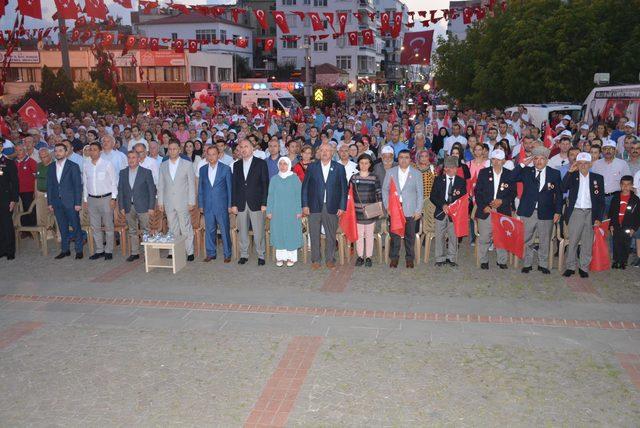 Sinop'ta 'Milli Birlik ve Beraberlik Yürüyüşü'