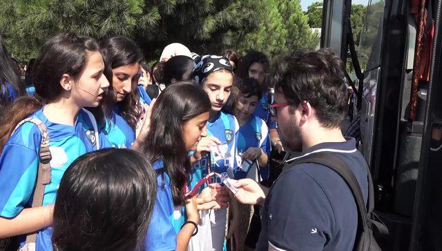 Beyoğlu'nda öğrencilerin karne hediyesi Kefken Kampı