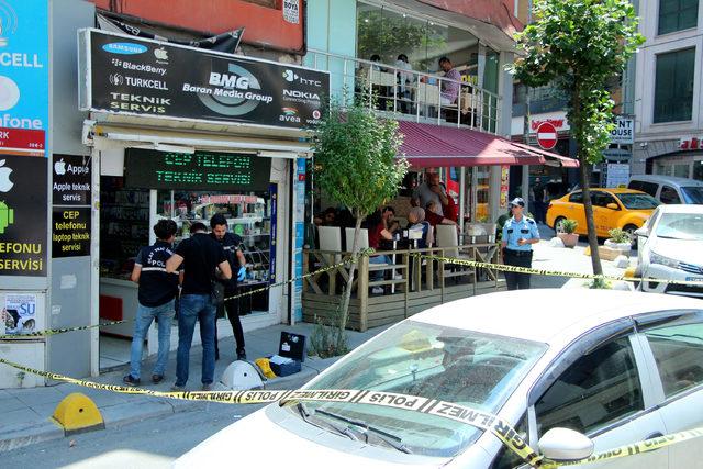 Şişli'de silahlı saldırı : 1 yaralı