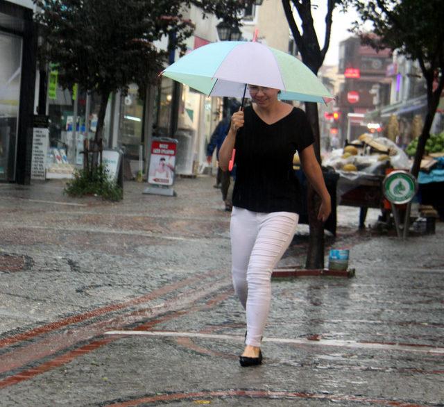 Edirne'de sağanak ve şiddetli rüzgar