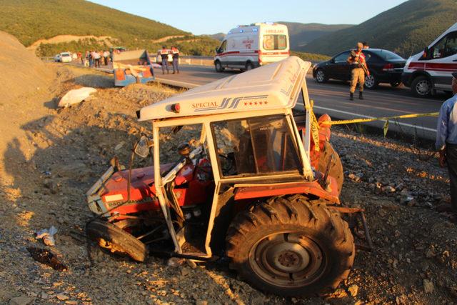 Tokat'ta traktör kazası: 3 ölü, 10 yaralı