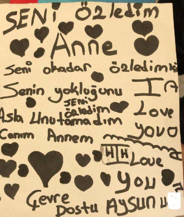 Liseli Samet, öldürülen annesine özlem notu bırakıp intihar etti