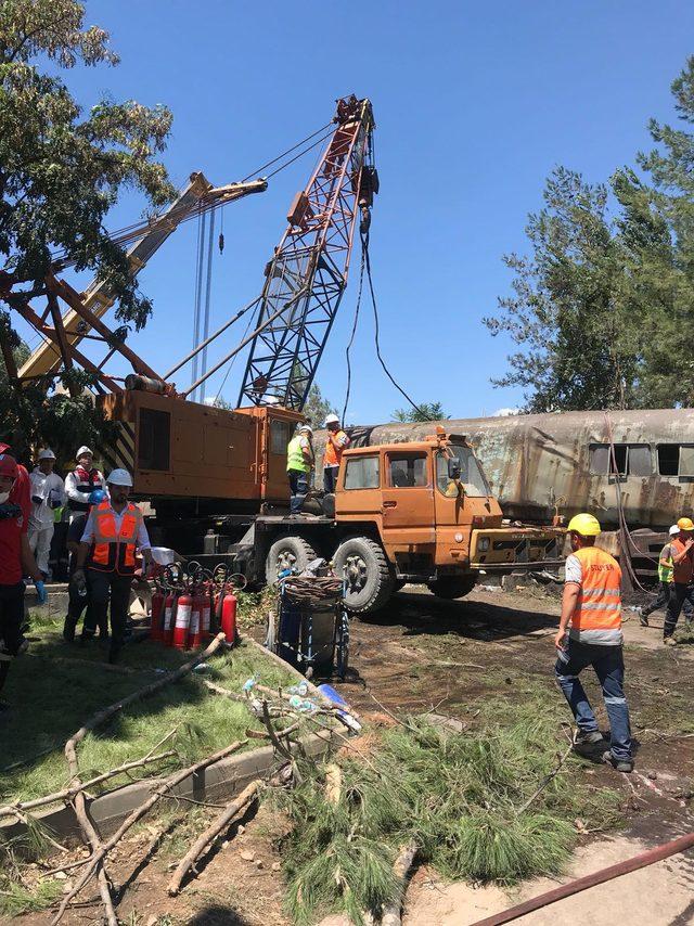 Termik santralde kömür sevk kanalı çöktü: 12 işçi yaralı (3)