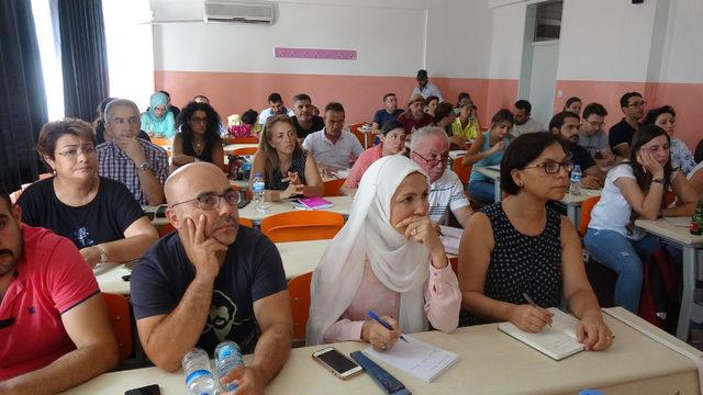 Zeytin üreticilerine akademik eğitim