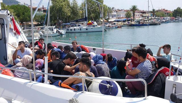 Çanakkale'de 39 kaçak yakalandı