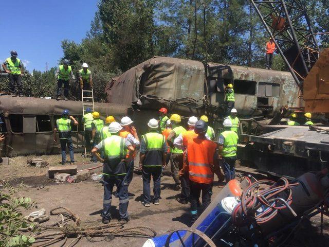 Termik santralde kömür sevk kanalı çöktü: 12 işçi yaralı (6)