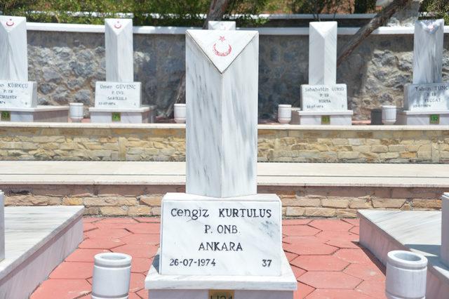 Kıbrıs şehidinin cebinden çıkan mektup, anıt olarak sergileniyor
