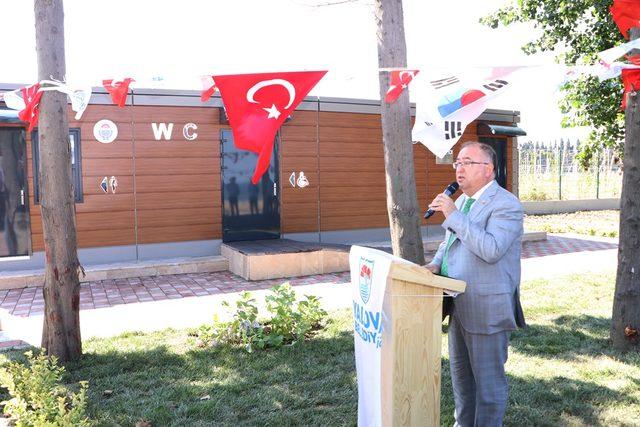 Yalova'da 193 bin TL'lik tuvalet törenle açıldı