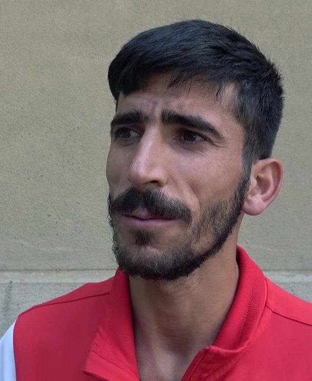 Milli sporcu Ağrılı: İbrahim Tunç, benim babam gibiydi