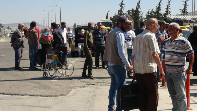 Bayrama giden 46 bin Suriyeli döndü
