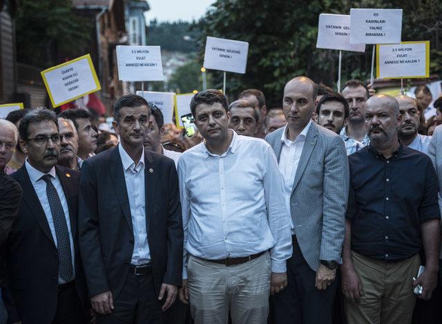 İYİ Partililerin 'Akşener Nöbeti' devam ediyor