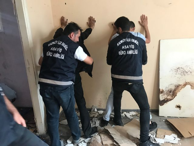 Kadıköy'de polis denetimi