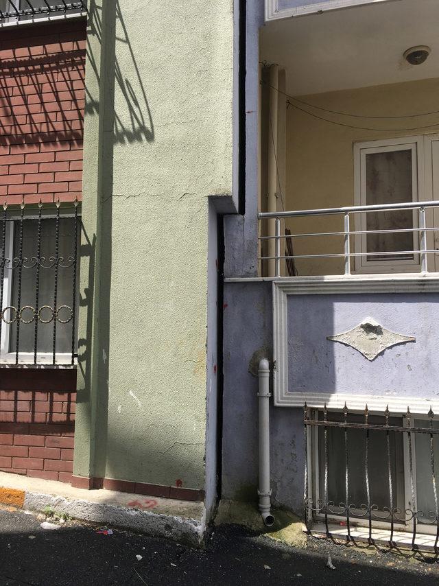 Sokak'taki görüntü ürkütücü; 6 bina mühürlendi