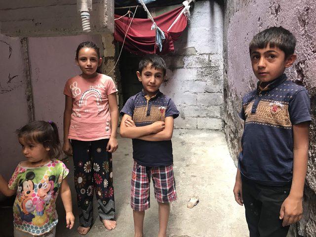 Diyarbakır'da, engelli baba ve ailesinin zorlu yaşam mücadelesi