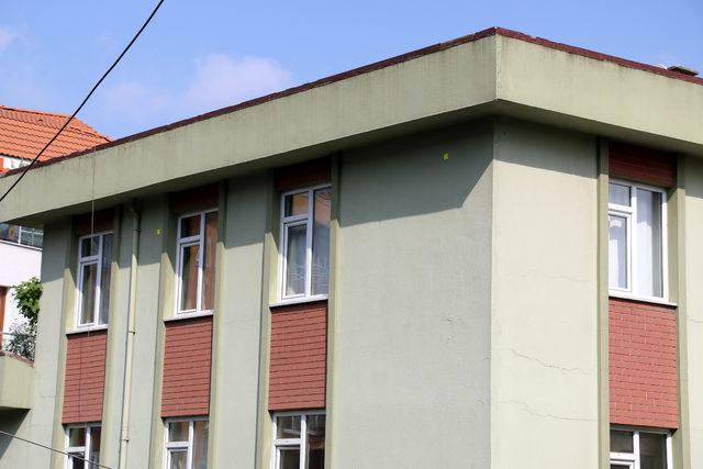 Sütlüce'de boşaltılan binalara
