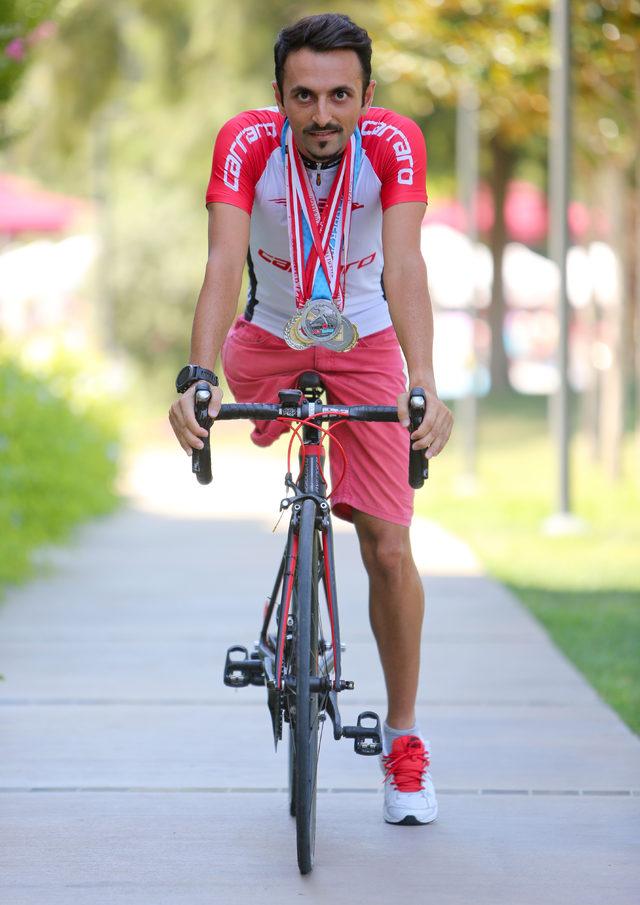 Sporcu 'protez bacağı' hayali için gün sayıyor