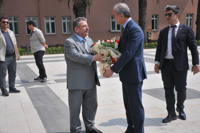 Başsavcı Hadi Salihoğlu görevini Murat Sarıhan'a devretti