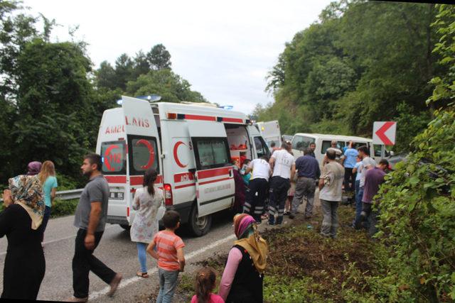 Kastamonu'da kaza: 11 yaralı