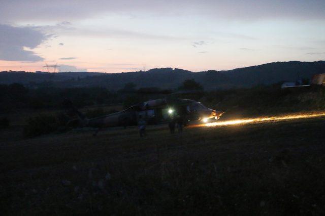 Kocaeli'yi sağanak vurdu, 9 kişi mahsur kaldı (3)