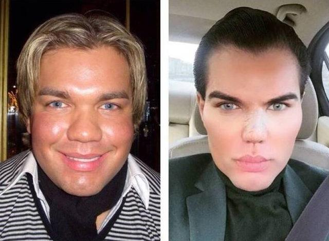 Американский кен фото до и после