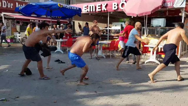 Bursa'da sahilde 'yer' kavgası: 7 yaralı