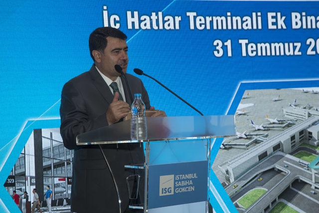 Sabiha Gökçen'in yolcu kapasitesi 41 milyona ulaşacak