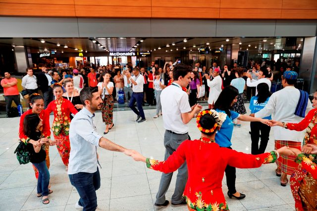 İSG, Malezyalı Melaka'nın dans gösterisine ev sahipliği yaptı