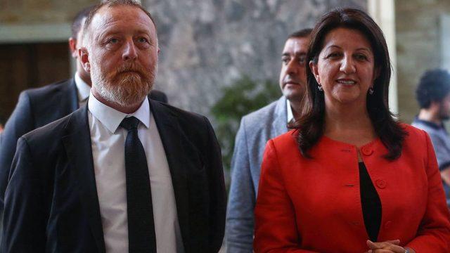 HDP Eş Genel Başkanları Sezai Temelli ve Pervin Buldan