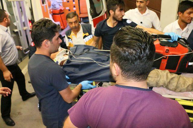 Adıyaman'da mermer ocağını basan teröristlerle çatışma: 1 asker yaralı