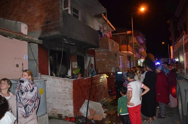 Tugba Melek died at the age of 5 in the house fire in Gallipoli