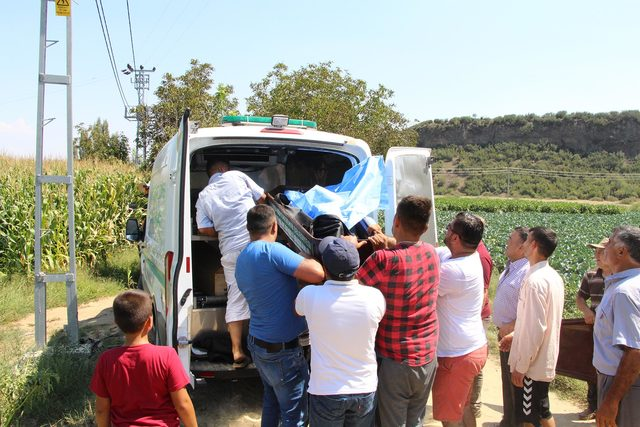 Young man falling from cliff into Manisa