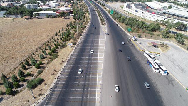 Tatilin son gününde İzmir'de trafik sakin
