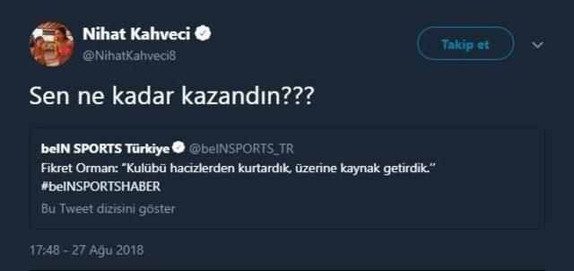 Nihat Kahveci Fikret Orman