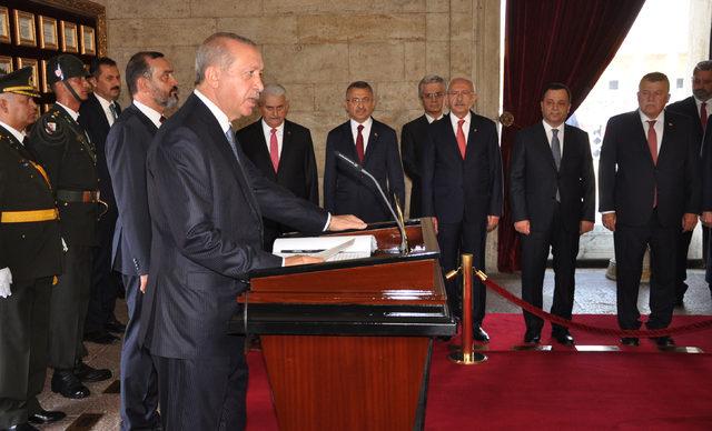 Erdoğan: Tehdit ve saldırılar, bizi hedeflerimizden alıkoyamayacak