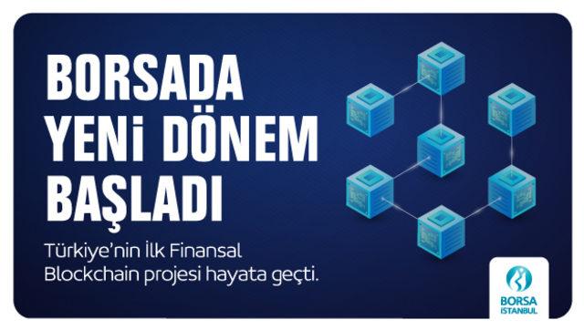 Türkiye'nin İlk Finansal Blockchain Projesi Borsa İstanbul Bilişim Teknolojileri Ekibi Tarafından Hayata Geçirildi