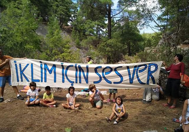 Antalya'da 'İklim İçin Ses Ver' etkinliği